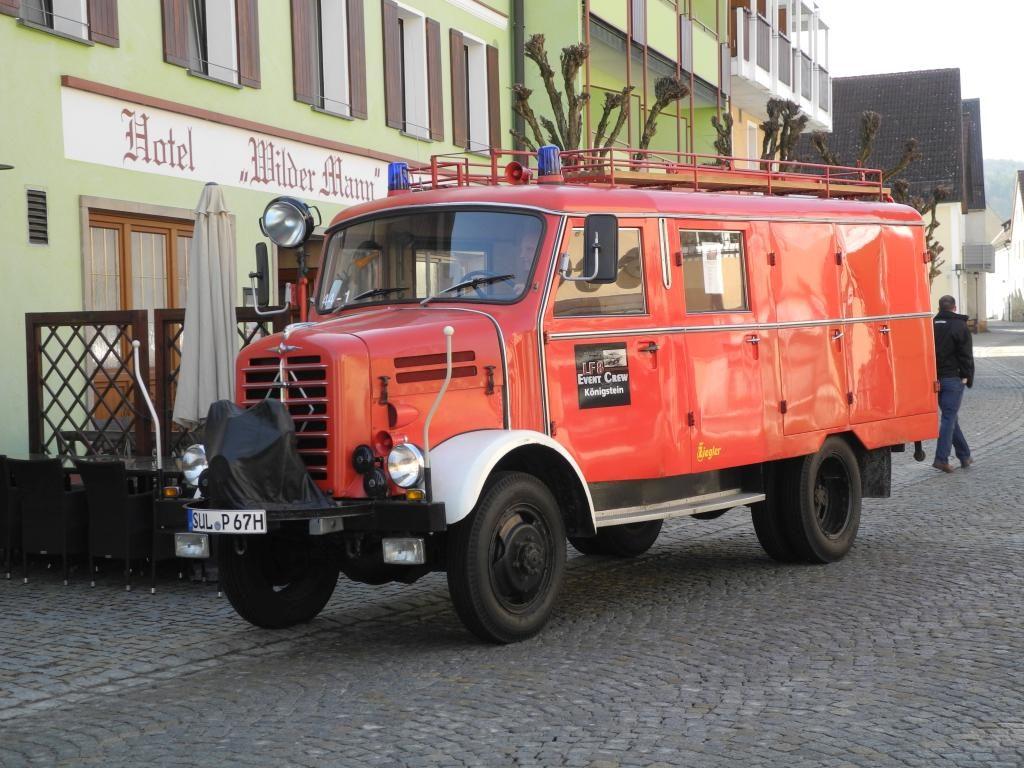 LF8 geparkt